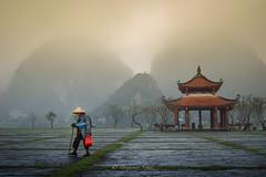 Bin Minh (benjaminschulz) Tags: vietnam bin minh tempel asien asia mountains dry halong bay nikon d50 1855mm lightroom snapshot travel travelgram hat