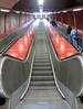 escalator (helena.e) Tags: helenae stockholm skarpnäck trappa tunnelbana escalator movingstaircase underground tube metro undergroundrailway metropolitanrailway