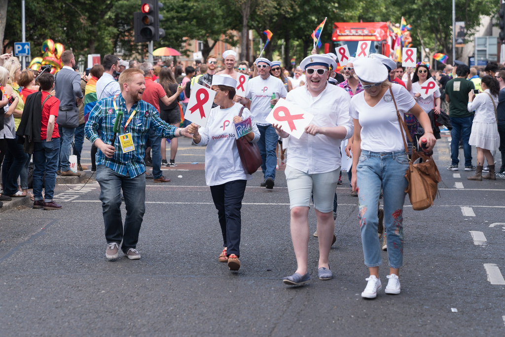 LGBTQ+ PRIDE PARADE 2017 [ON THE WAY FROM STEPHENS GREEN TO SMITHFIELD]-130170
