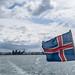 Icelandic Flag -  Reykjavik Port, Iceland