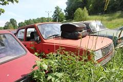 Skoda 120L (MilanWH) Tags: autovrakoviště scrapyard czech rust épave