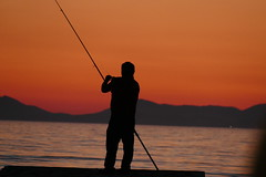 P1000578 (FAJM) Tags: greece syvota sivota thesprotia epirus σύβοτα θεσπρωτία ήπειροσ ελλάδα sunset corfu sea κέρκυρα