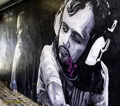 PEEL... (BABAYAGA321) Tags: belfast victoriasquare streetphotography graffiti streetart clocktower murals dirtyonion guinness salvadoredali johnpeel stenaline langanriver ferry stannescathedral spireofhope