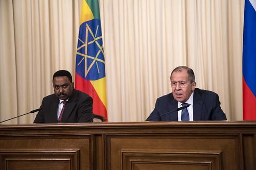 Вступительное слово Министра иностранных дел России С.В.Лаврова в ходе переговоров с Министром иностранных дел Эфиопии В.Гебейеху, Москва, 26 июня 2017 года