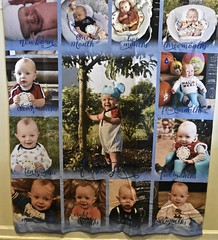 12 Month Memories (donna_0622) Tags: blanket gift photo 12month birthday party nikon d750 baby