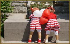 Habt ein schönes Wochenende ... (Kindergartenkinder) Tags: dolls himstedt annette frühling park blume garten kindergartenkinder essen grugapark personen blumen seerosen annemoni sanrike