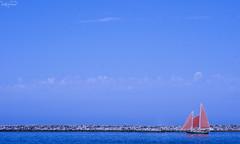 Boat (F.emme) Tags: beach orangecounty coronadelmar pacificocean ocean lagunabeach
