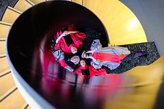 A Squadron of Graduates Swept Down the Spiral of Knowledge! (Raphael de Kadt) Tags: harvard mit university graduation usa cambridgema 2017 spiral stairwell