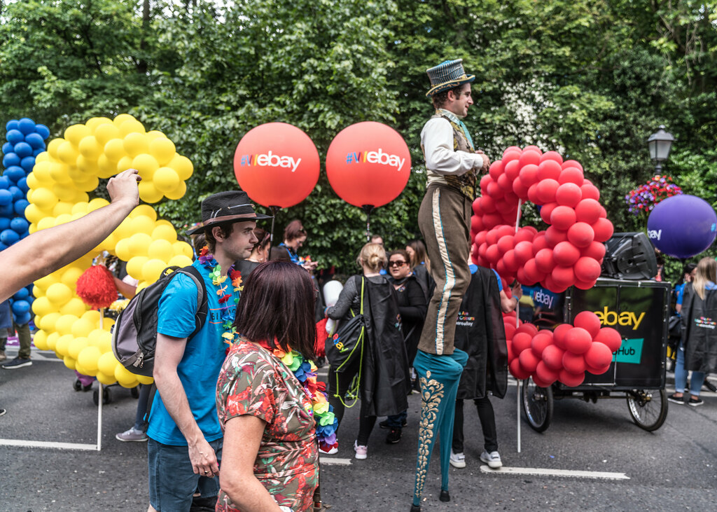 LGBTQ+ PRIDE PARADE 2017 [STEPHENS GREEN BEFORE THE ACTUAL PARADE]-129784