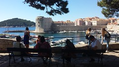 Old Harbour, Dubrovnik from Ploce Gate (Martin Sutton) Tags: oldharbour dubrovnik croatia plocegate