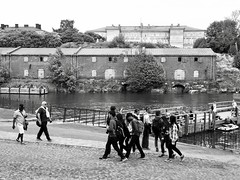 Suomenlinna, Helsinki (m.pertti) Tags: landscape monochrome blackandwhite history architecture travel fortress sea suomenlinna helsinki finland