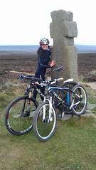 Lilla Cross (Photo_stream_this) Tags: bike helmet north yorkshire moors fylingdale lilla cross king edwin cycling