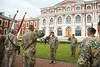 Zemessardzes ceturtās brigādes komandiera amatā stājas pulkvežleitnants Andris Rieksts (Latvijas armija) Tags: jelgava latvija lva zemessardze komandieris nbs latvijas armija