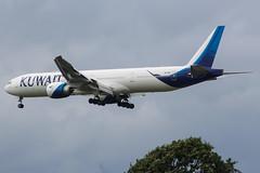 9K-AOD Boeing 777 Kuwait