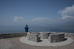 looking out (=Mirjam=) Tags: nikond750 montenegro blue lake water sky lakeskadar travel roadtrip juni 2017