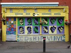 Deco (stillunusual) Tags: manchester mcr city england uk withington manchesterstreetphotography streetphotography street urban urbanscenery recordshop recordstore indierecordshop indierecordstore shop streetart urbanart urbanwalls wall wallart wallporn graffiti graffitiporn 2017