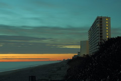 EARLY MORNING (R. D. SMITH) Tags: morning clouds beach sand ocean canoneos7d