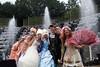 Le bosquet des Rocailles ou salle du Bal (rolleitof) Tags: balmasqué versailles bal costume party fête