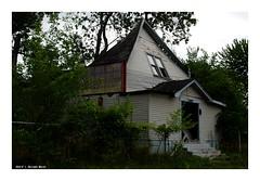 Crash Landing (TooLoose-LeTrek) Tags: detroit abandon urbandecay church cavein crash religion gx8