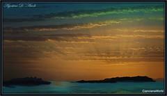 Elaborazione su un tramonto di fine Giugno-2017 (agostinodascoli) Tags: art digitalart digitalpainting photoshop photopainting texture sunset nikon nikkor agostinodascoli tramonto paesaggi nature cielo mare