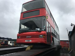 R1 steam clean... Work has progressed well! Almost time for repaint. (NOE 544R) Tags: transportmuseumwythall bammot nationalexpresswestmidlands nationalexpress 4001 1 r1neg