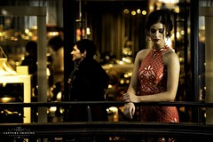 Madeline (Capture Imaging) Tags: qvb styledshoot sydney townhall reddress wedding weddinggown