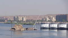 Nile Cruise Ships (Rckr88) Tags: aswan egypt nile cruise ships nilecruiseships ship boats boat felucca feluccaridethroughaswan sail sailing sailboat sails dhowsailboat africa travel travelling water waves wave reflections reflectionsofthenile river rivers nileriver thenileriver nileriverupperegypt upperegypt upper outdoors