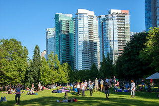 Summer in the City, Harbour Green Park, Vancouver, BC