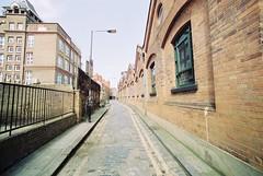 Gunthorpe Street (goodfella2459) Tags: nikon f4 cinestill 50 35mm c41 film analog colour gunthorpe street george yard whitechapel east end martha tabram jacktheripper crime history london milf