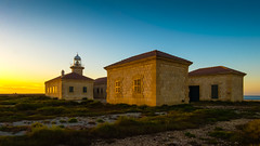 The Lighthouse of Punta Nati (ristoranta) Tags: canonpowershotsx60hs lighthouse 2017 majakka sunset auringonlasku puntanati menorca hdr ciutadellademenorca illesbalears spain es