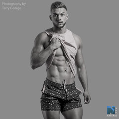 Dexter NFM (TerryGeorge.) Tags: natural fitness models abs six pack workout toned athletic muscle shirtless hunk terry george