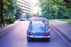 Classic Cars - Volvo PV544 (Analog World Thru My Lenses) Tags: nikonfa nikkor100mmf28seriese kodakektar100 may2017 warsaw warszawa classiccars oldtimer vintage analog film volvo pv544