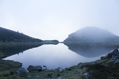 Winter is coming (Milena Galizzi) Tags: lake trouts mountain val brembana landscape morning fog sunny summer daytrip