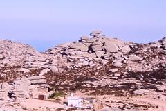 Balancing anvil (egotoagrimi) Tags: aegean greece ammoudia plateau hikingtrails ικαρία αμμούδια rockshapes highnoon anvil ridge transikariantrail atheras