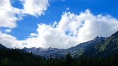 Alps in Ridanna (l.cutolo) Tags: ridanna glow mountain misty tlp flickr cloudtrails altoadige worldtrekker daylight lowlight summer colorsky snowspot slowspeed greentones italy snow lenssunset sonyfe2470mmf40zaoss