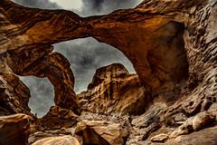 Double Arch (2d vs 3d) Tags: archesnationalpark