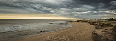 Tormenta costera (EmilioMDQ) Tags: mar costa miramar tormenta argentina foto paisaje naturaleza nikon rz lr arena plata piedras photographer photography