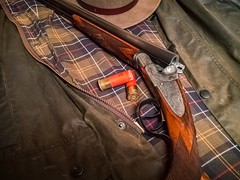 LC Smith (DWSQRD) Tags: lcsmith side by sxs ideal grade sporting dog journal shooting sports sportsman vintage shotgun 12 gauge ga barbour shot iphone double barrel