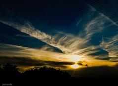 Gold Sunset (viktórianagynépetró1) Tags: sunset sunshine summer sun clouds cloud cloudporn shine evening night naturelovers nature nikonflickraward