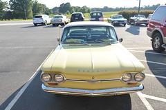 Classic Cars Corvair Club Hoyt's Restaurant Lexington, NC 20170710_4277 (Shane's Flying Disc Show) Tags: classiccars corvairclub davidson nc lexinton unsafeatanyspeed daredevils