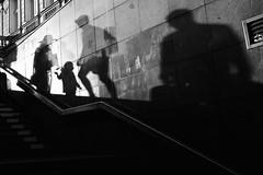World of Shadows (tomavim) Tags: shadows stairs street climb stone city metro