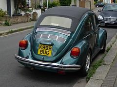 1998 Volkswagen Beetle 1600 Cabriolet (Neil's classics) Tags: vehicle car volkswagen beetle 1998 vw