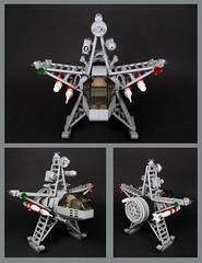 STAR Fighter (Karf Oohlu) Tags: lego moc minifig spaceship starfighter scifi