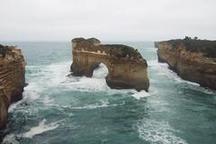 Summer (Swebbatron) Tags: australia victoria islandarch lochardgorge sea ocean coast portcampbell 2008 travel radlab fuji greatoceanroad