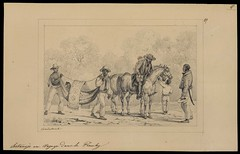 Sertanejo en voyage dans le Piauhy (BNDigital) Tags: escravos transporte rede