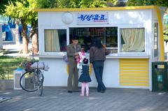 Street scene Pyongyang (Frühtau) Tags: северная корея 北韩 dprk north korea pyongyang capital city people leute nordkorea korean style daily life asia asian east centre street scene shop stall sell economy szene strasse tradition pjönjang