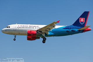 OM-BYA Slovak Government Flying Service Airbus A319-115(CJ)