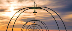 Southport (Mark Dickens) Tags: southport southportpier sky sunset silhouette tunnel