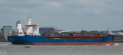 Patagonia (frisiabonn) Tags: vehicle ship water wirral liverpool england uk britain marine vessel river mersey merseyside sea shore waterfront maritime boat outdoor patagonia oil chemical tanker