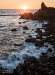 Pacific Sunset, Asilomar State Beach, Pacific Grove, California  (10030) (John Bald) Tags: asilomar asilomarbeach california pacificgrove coast horizon rocks shore sunset water wave